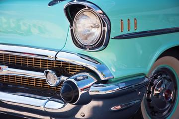 Vintage Car Front Detail