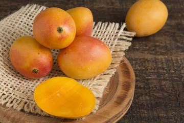 Fresh and sweet mangoes