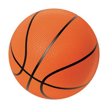Realistic vector basketball