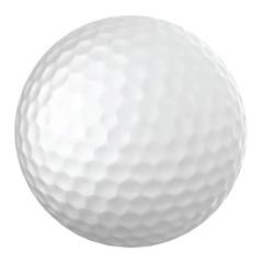 Realistic vector golf ball