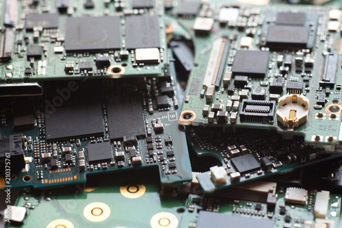 Fine Electronic Waste Semiconductor In Printed Circuit Board Technology Wiring Digital Resources Biosshebarightsorg