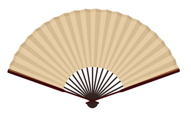 Ancient Traditional Japanese fan