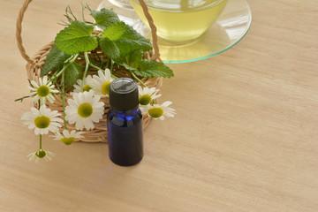 アロマオイル ハーブティー カモミールの花