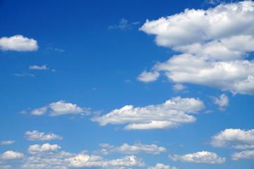 Sky, clouds - horizontal photograph