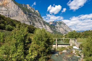 Sarca River - Trentino Alto Adige Italy