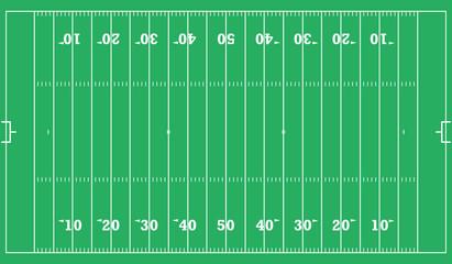 american football field background. vector illustration eps 10