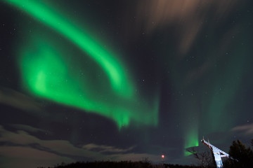 Magic of the northern lights