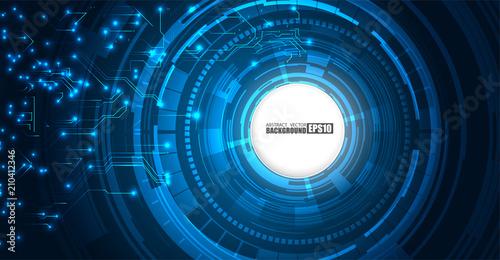 circuit board technology tree pattern concept vector background rh fotolia com