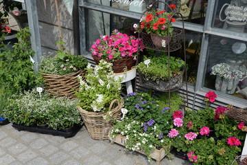 Dekoration mit Blumen