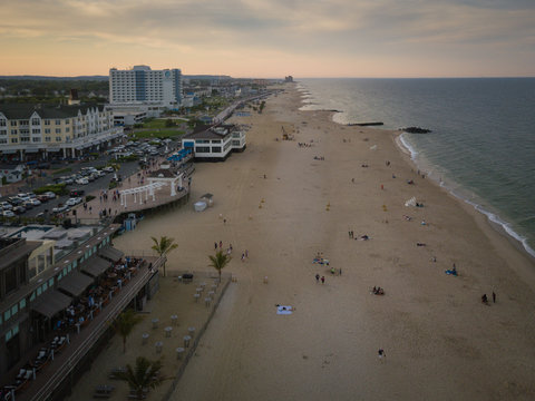 Aerial View of Pier Village Long Branch NJ