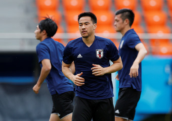 World Cup - Japan Training
