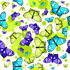 pattern with butterflies 2