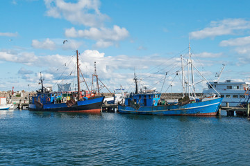 Fishing boats at the harbor
