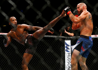 Ultimate Fighting Championship - Welterweight Bout- Donald Cerrone v Leon Edwards - Singapore Indoor Stadium, Singapore