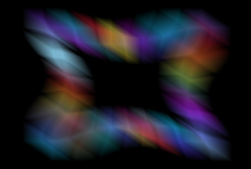 Abstract background with blurred shape