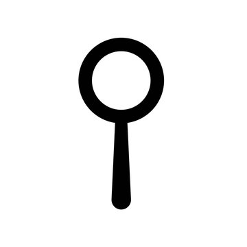 Search icon vector icon. Simple element illustration. Search symbol design. Can be used for web and mobile.