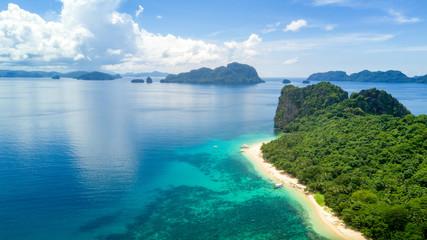 El Nido Palawan Philippines Island Hopping Drone