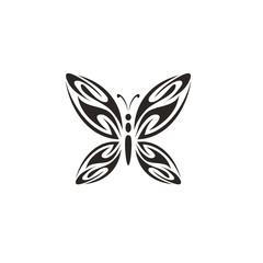 Creative Butterfly Logo Icon Vector