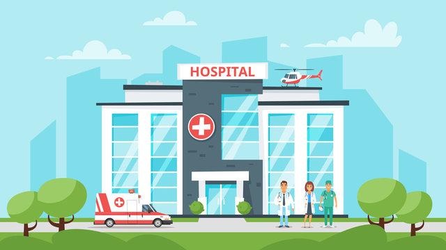 medical hospital building
