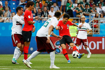 World Cup - Group F - South Korea vs Mexico