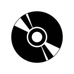Cd icon vector icon. Simple element illustration. Cd symbol design. Can be used for web and mobile.