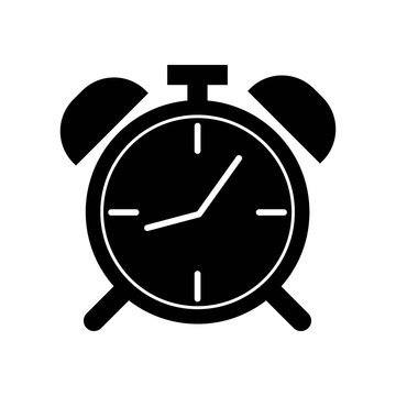 Alarm clock icon vector icon. Simple element illustration. Alarm clock symbol design. Can be used for web and mobile.