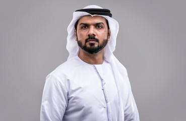Man from Dubai with kandura