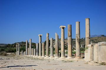 Main street in ancient Lycian