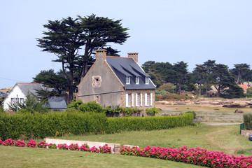 Maison bretonne en Bretagne