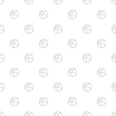 Ball background from line icon. Linear vector pattern