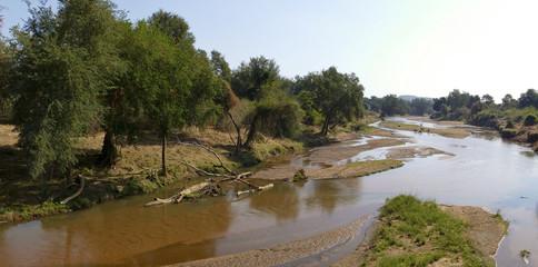 Luvuvhu river, Kruger National park, South Africa