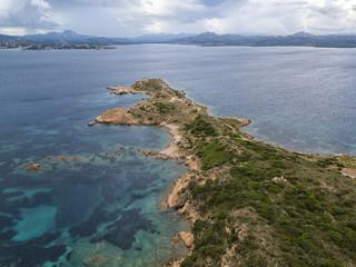 Aerial Perspective over La Maddalena