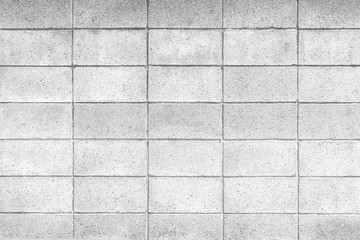 Cement block fence pattern and background