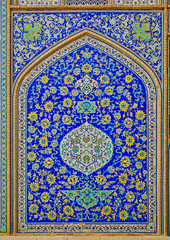 Isfahan mosque tiles