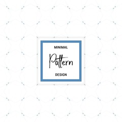 Simple, minimalistic seamless pattern. Elegant creative background. Vector illustration.