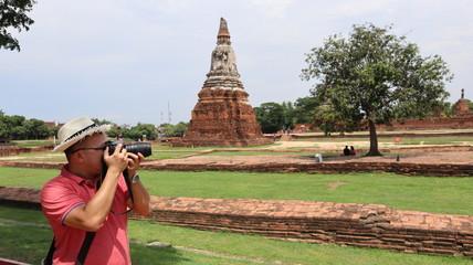 Wat Chai Wattanaram, Ancient Temple in Ayutthaya, Thailand