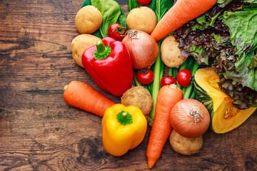 Fotobehang Keuken 野菜