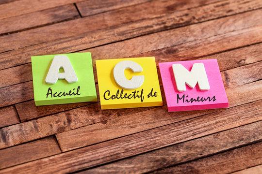 post-it acronyme : ACM