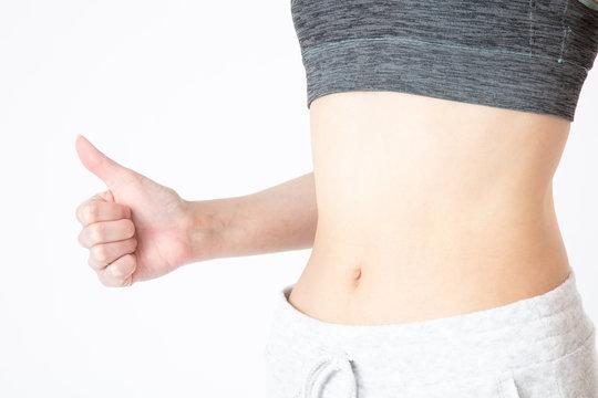 女性 ダイエット 腹部
