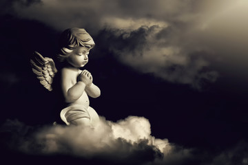 Guardian angel on the cloud