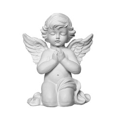 Angel isolated on white background