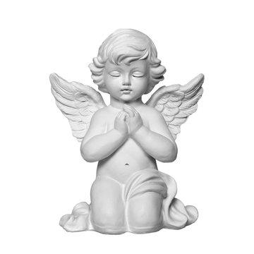 Angel isolated on white background