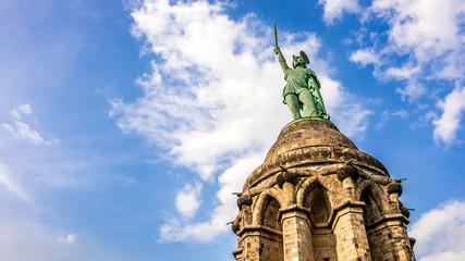 Aluminium Prints Historic monument The Hermannsdenkmal in Germany