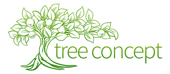Conceptual Tree Icon