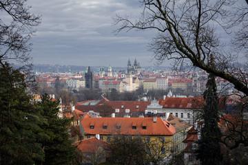 The streets of Prague. Prague, Czech Republic. 2014-01-05