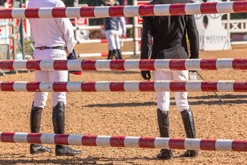 Show Jumping Riders Course Check