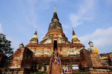 Wat yai chai mongkhon,Ayutthaya,Thailand