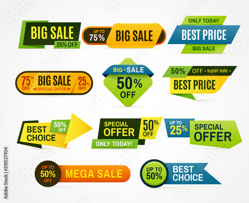 Price Tag Label Banner Sticker Or Abstract Flyer Graphic For Offer
