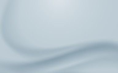 Abstract gray curved wave line design banner concept bright luxury and modern background
