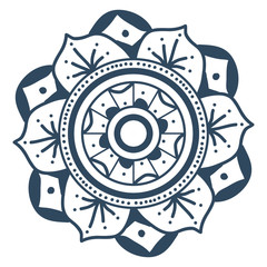 mandala illustration vector